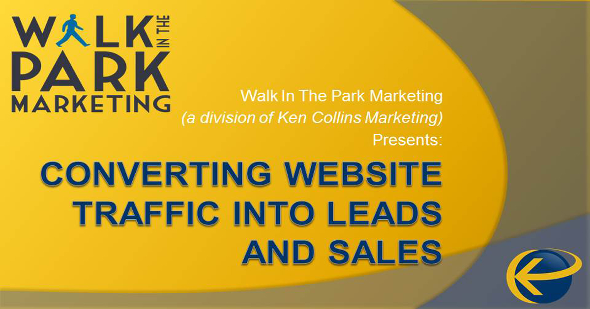 Converting Website Traffic into Leads and Sales