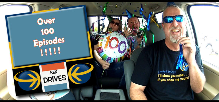 Ken Drives: 100 Episodes!!!