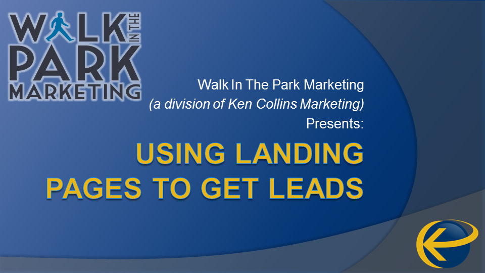 Using Landing Pages to Get Leads