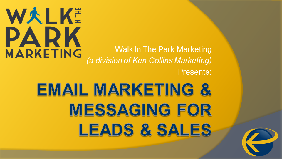 Email Marketing and Messaging for Leads and Sales