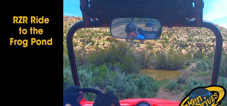 RZR Ride to the Frog Pond