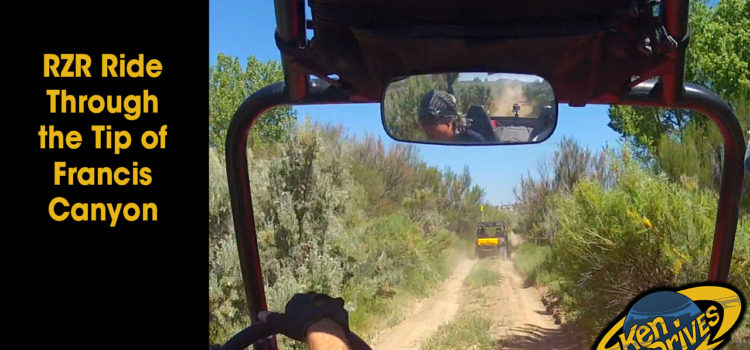 RZR Ride Through the Tip of Francis Canyon